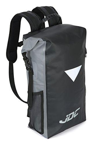 59f57517bf615 JDC Mochila para Moto 100% Impermeable Bolsa Resistente al Agua 30L-  Negra Gris